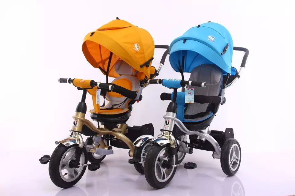 2016 Baby Walker Tricycle 4 in 1 Trike/Child Tricycle Seats/Cheap Kids Tricycle Kids Smart Trike