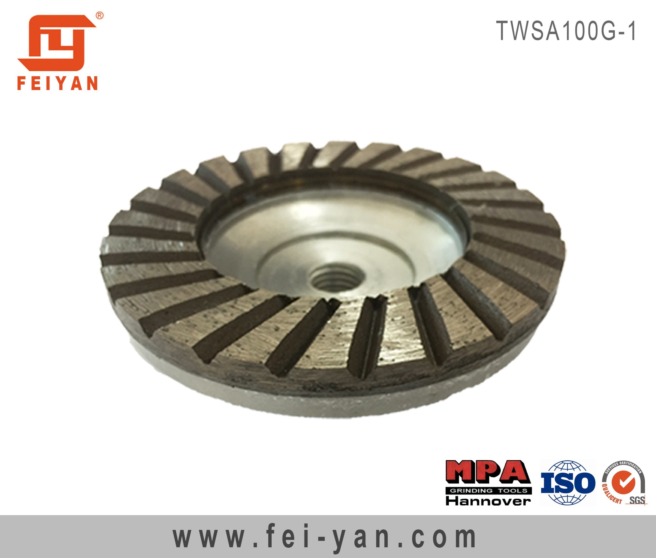 Turbo Type Single Row Cup Wheel