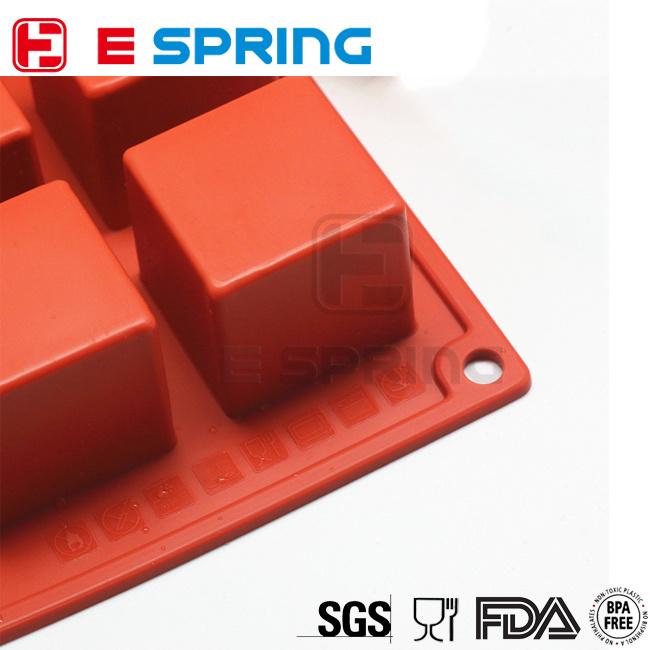 15 Square Chocolate DIY Silicone Mold