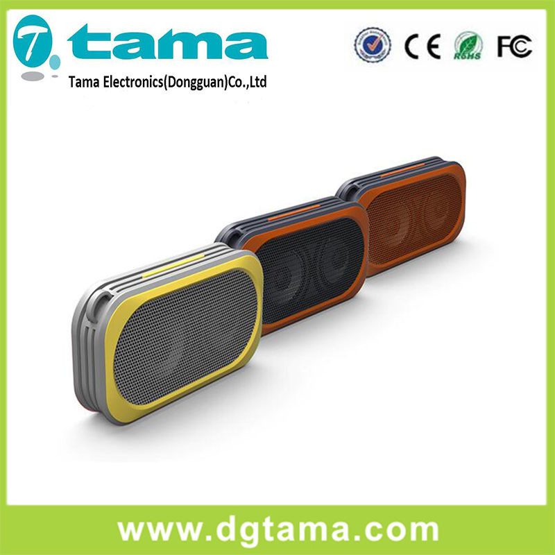 Fashionable Waterproof Floating Music Mini Rechargeable 3W Bluetooth Speaker Wireless