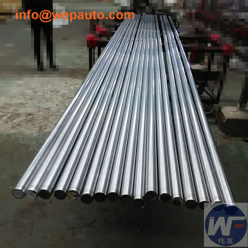 Ck45 Hard Chrome Plated Steel Bar Hydraulic Cylinder Rod