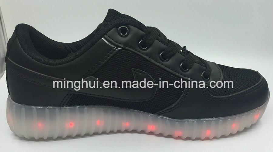 Women Kids USB Charging Light LED Shoes