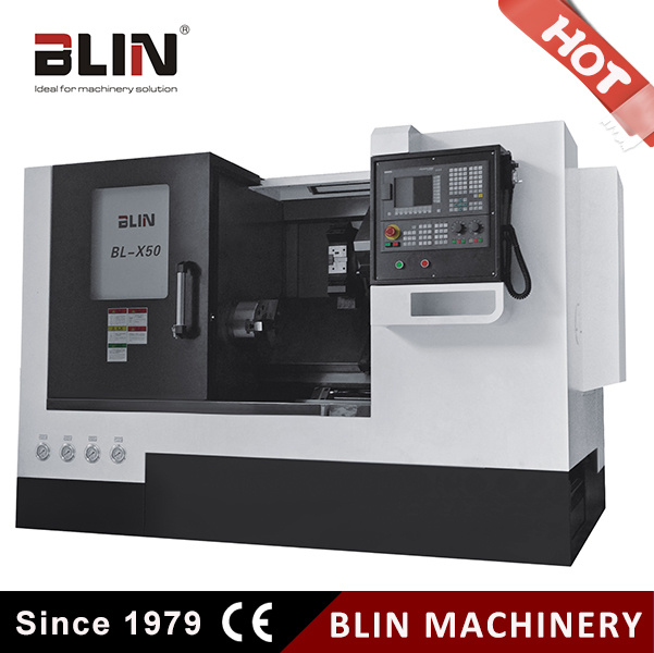 Bl-X50 Slant Bed CNC Lathe Machine with Taiwan Linear Guideway
