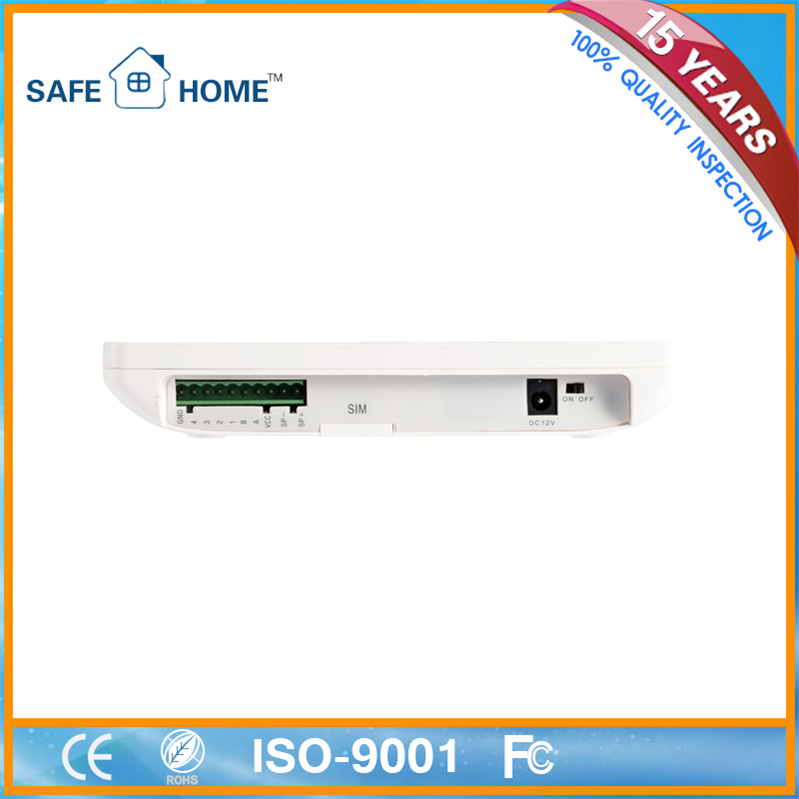 Supplier! Intelligent Wireless GSM Fire/Home Burglar Alarm