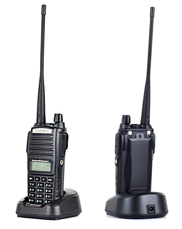 New Baofeng UV-82 2-Way Radio 136-174MHz / 400-520MHz U/V Dual Band 5W Handheld Walkie Talkie
