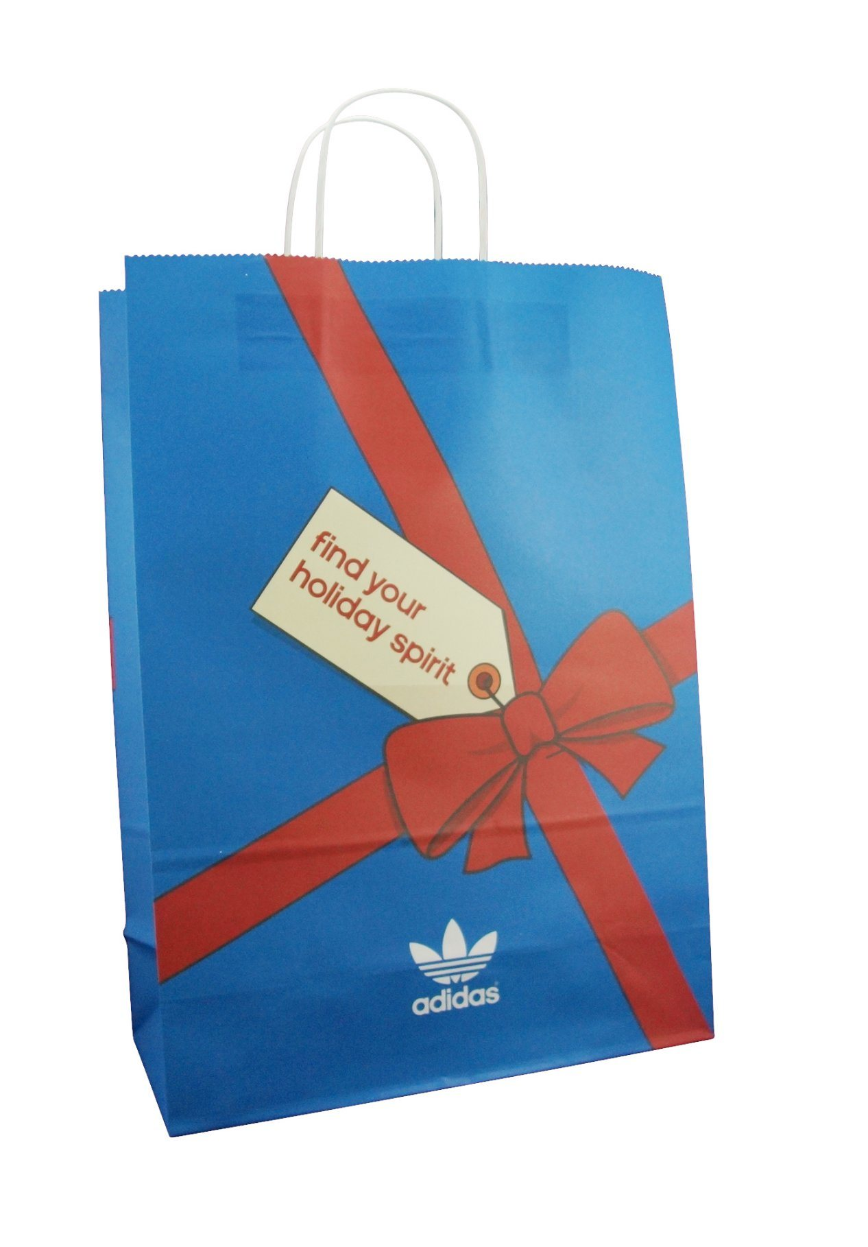 High Quality Kraft Paper Shopping Bag with Company Logo