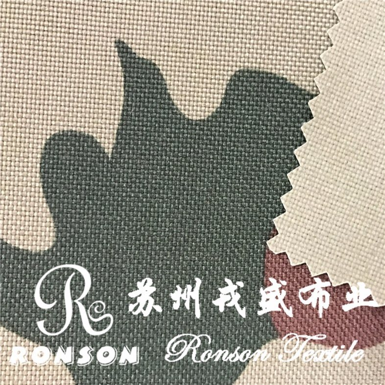 Nylon6 Cordura Printed Fabric for Military Bags, Waterproof, High Tense, PU Coated