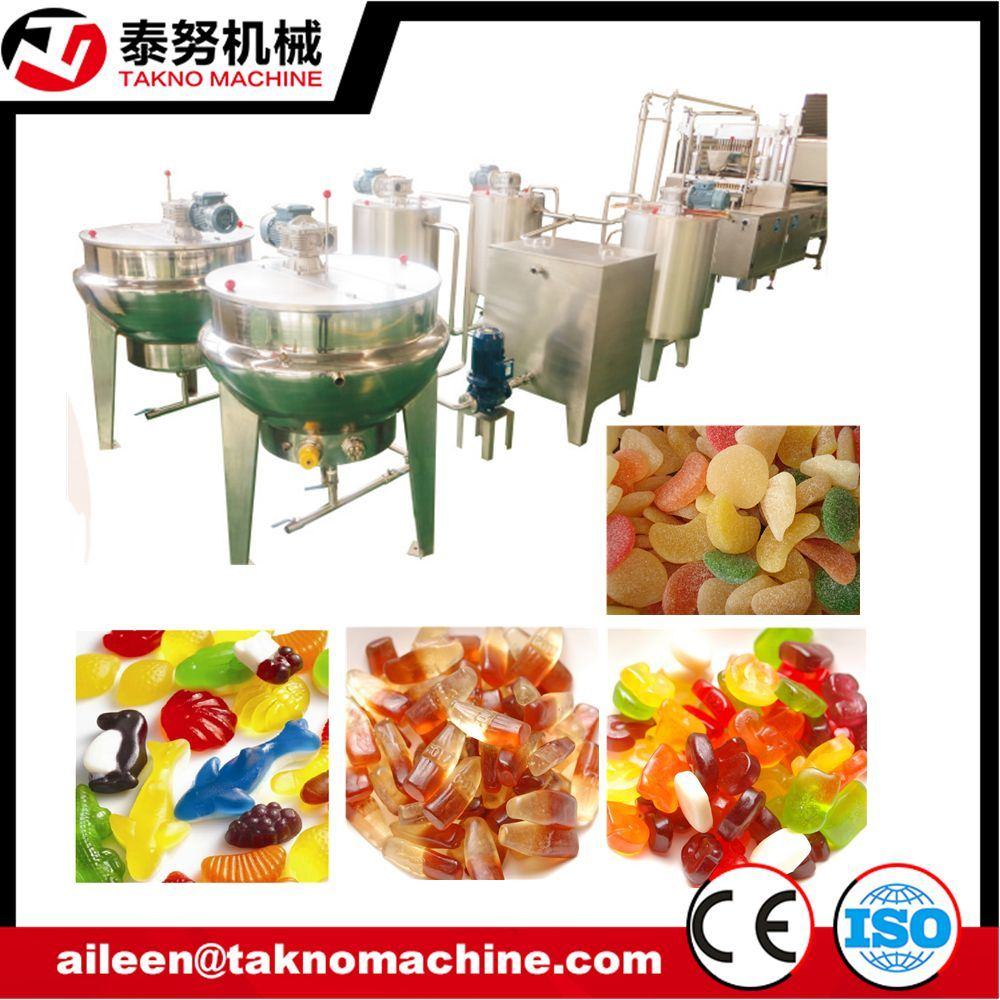 Automatic Food Processing Machine Jelly