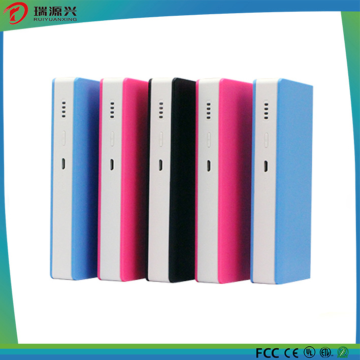 2016 Hot Selling 13000mAh Colorful Portable Wallet Power Supply