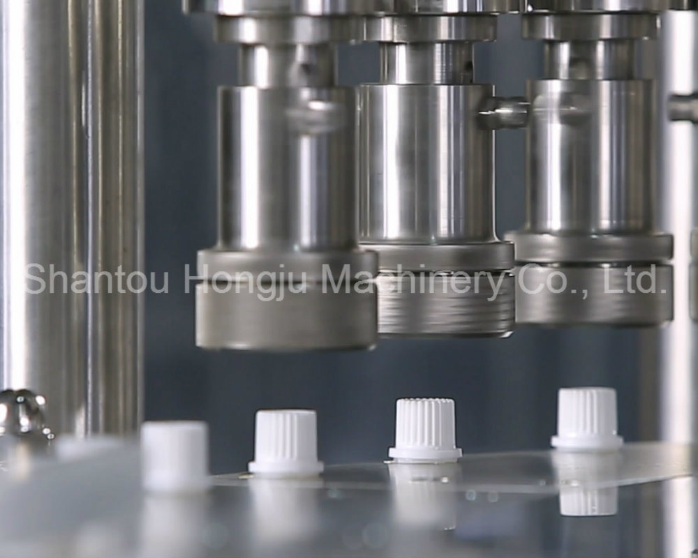 Five Heads Liquid Filling Capping Machine for Spouted Pouch