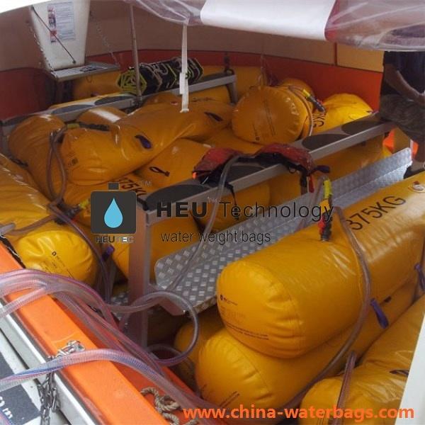 Heu-375kg Lifeboat Load Test Water Bag