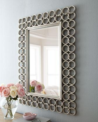 Oval Silver Mirror with Belgium Inv Examination En1036, Us Hilemn Approved Atst D3359, SGS Test Report