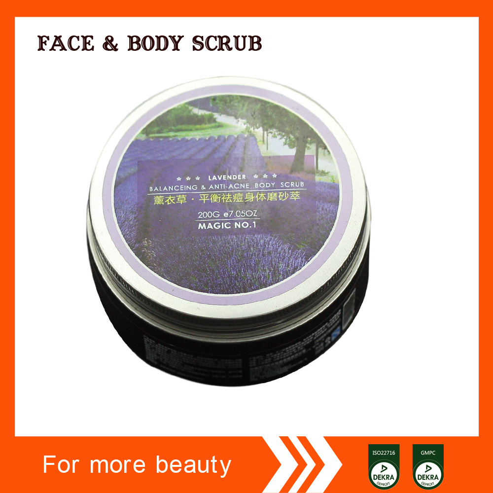Lavender Balanceing & Anti-Acne Body Scrub