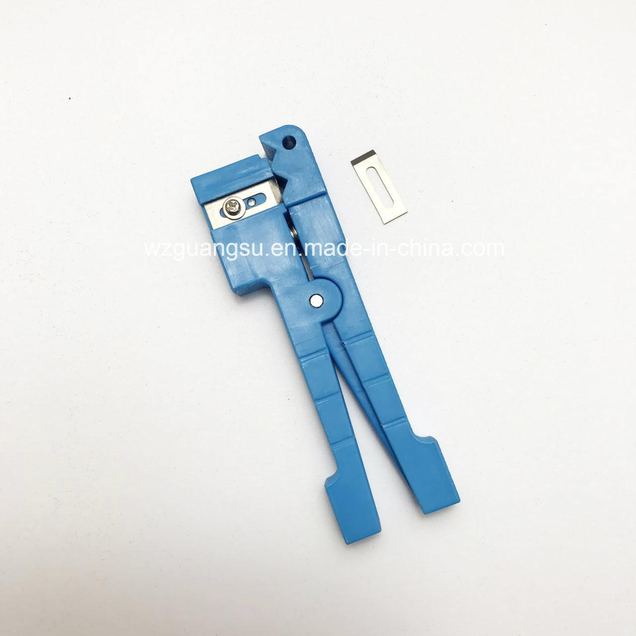 Optical Fiber Jacket Stripper for Strip Fiber Cable (G&T45-162)