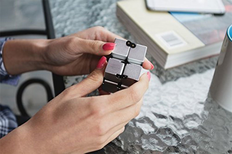 Luxury EDC Fidgeting Infinity Cube for Stress Reducer