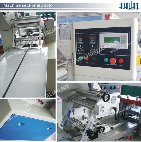 Hualian 2017 Biscuit Horizontal Packaging Machine (DXDZ-250B)