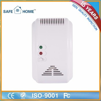Wireless/Standalone Smart Wall Mounted Gas Detector