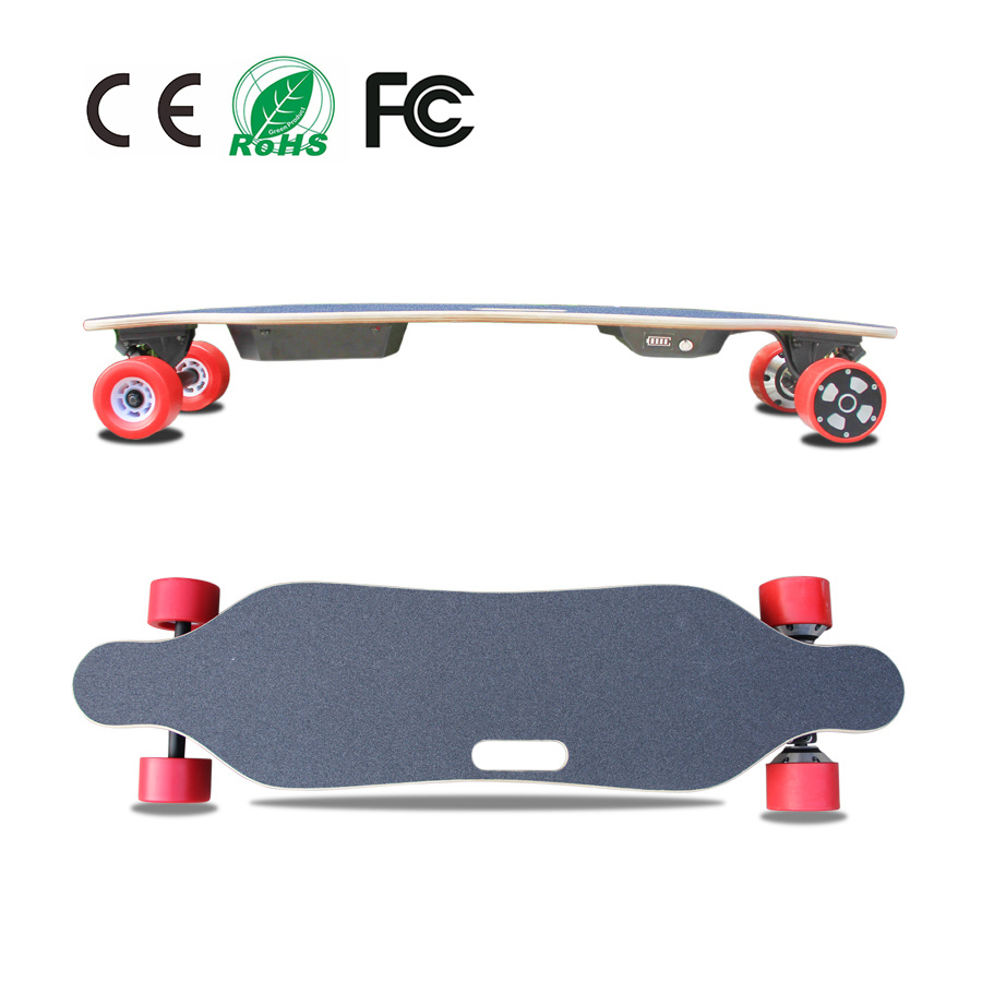 High Quality 4 Wheels Electric Skateboard Longboard with Remote Control