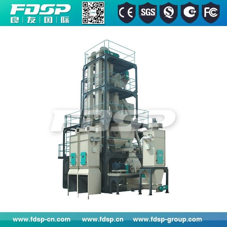 0.5-6tph Capacity Small Feed Mill Production Plant