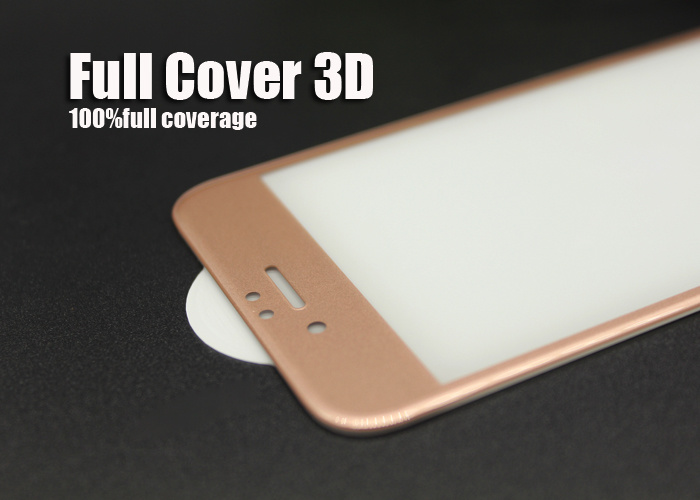 Full Screen Protector Ab Glue 3D Curved Screen Protector Cell/ Mobile Phone Accessories for iPhone 7/7p