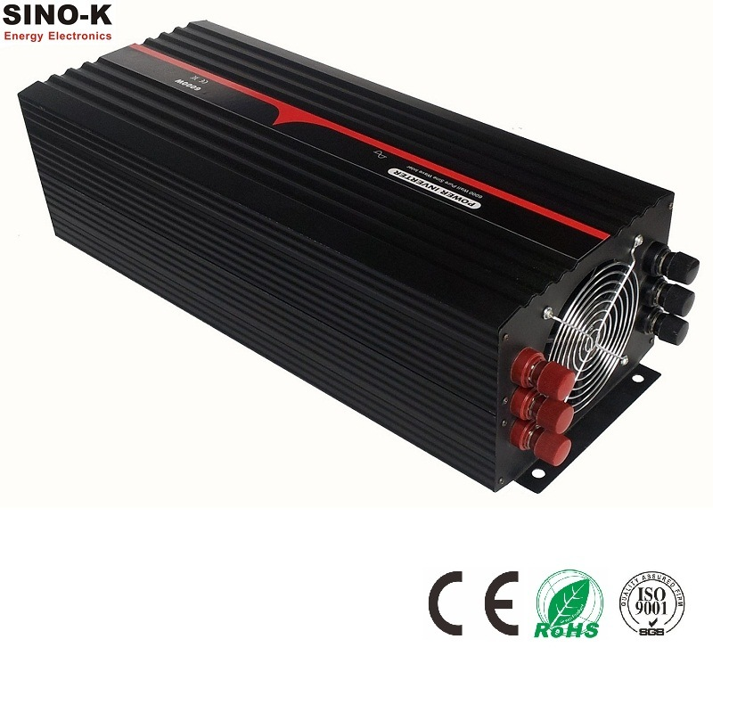 6000W off Grid Pure Sine Wave Power Inverter with Charger