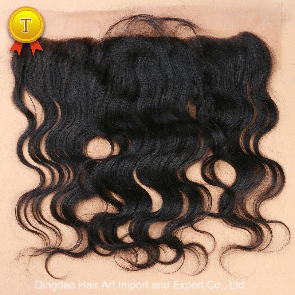 "10""-20"" Body Wave Natural Color Virgin Hair Frontal Closure"