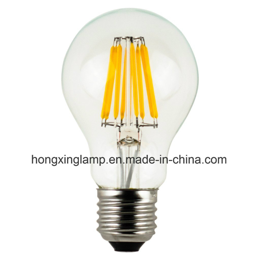 LED Filament Light Bulb A19 4W 6W 8W