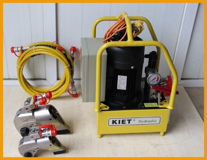 2017 Kiet Al-Ti Alloy Square Driven Hydraulic Torque Wrench