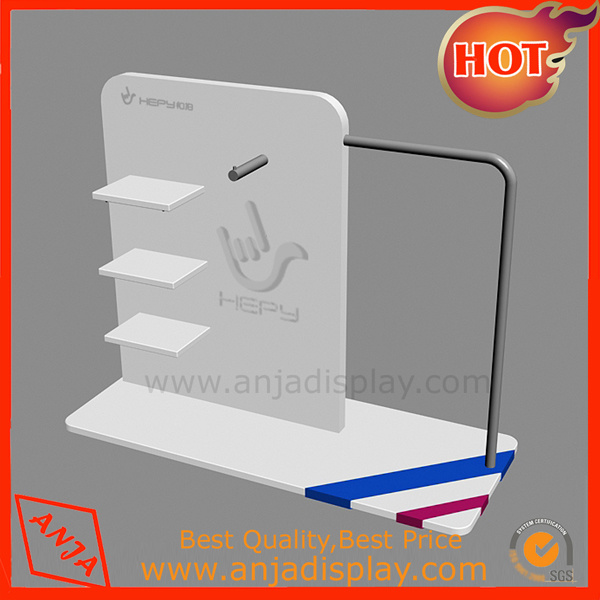 Metal Clothing Display Units Cloth Rack Design for Shops