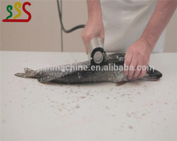 Manual Electric Fish Scale Remover Fish Scaler Fish Scale Removing Machine