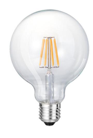 LED G80 Filament Light Bulb 6W 8W 10W 12W 14W 16W 18W for Energy Saving