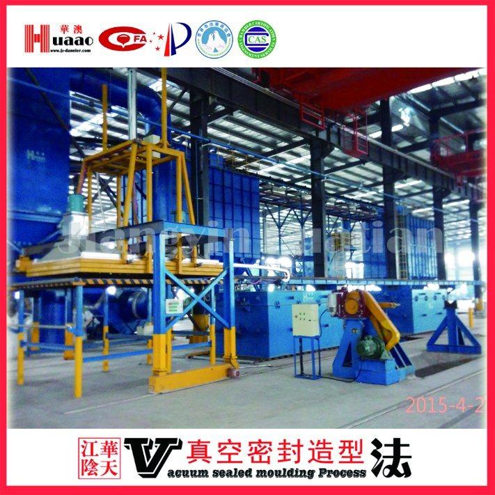V Process Casting Molding Line and Foundry Sand Preparation Line