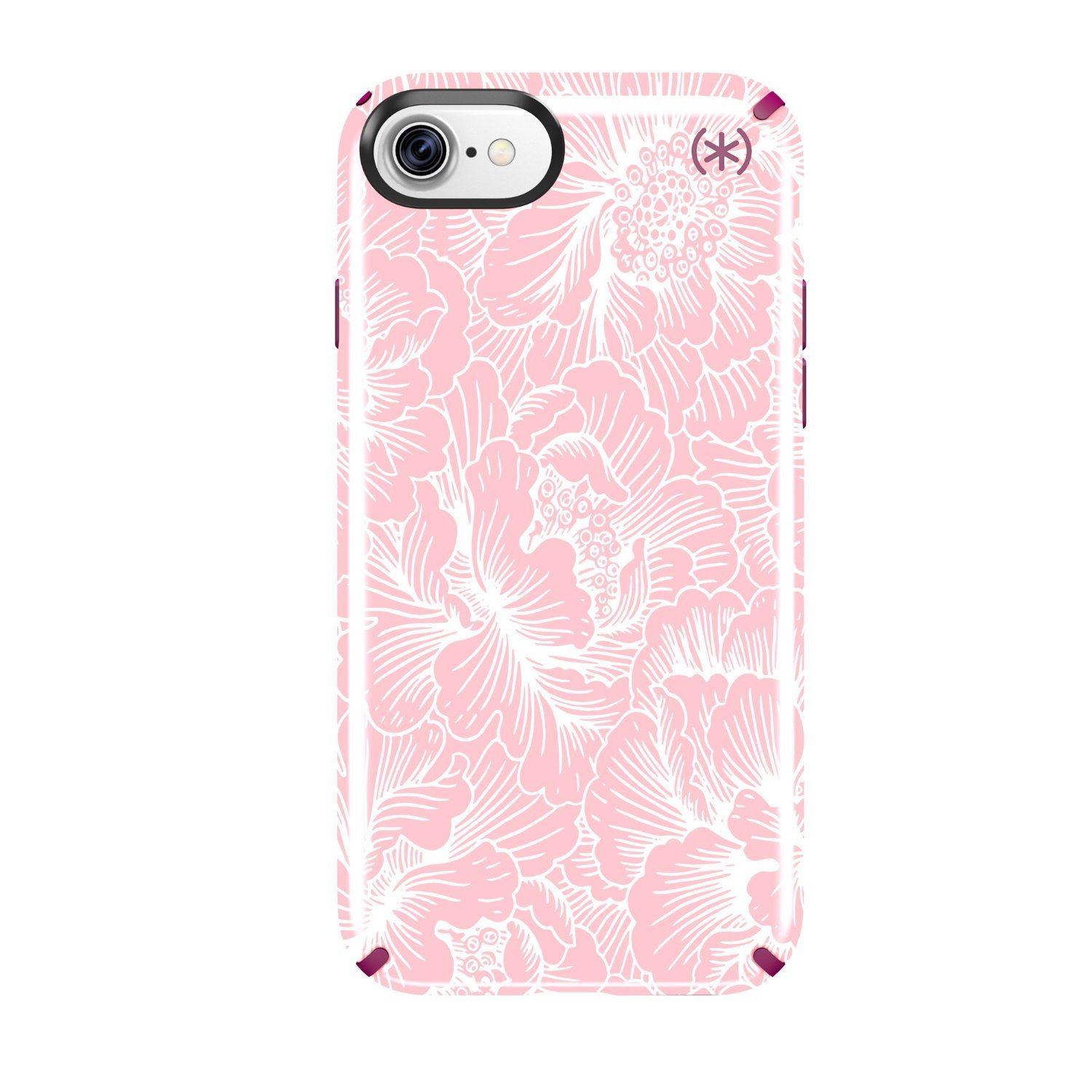 iPhone 7 Nebula Floral Pattern Cell Phone Case Hard Case