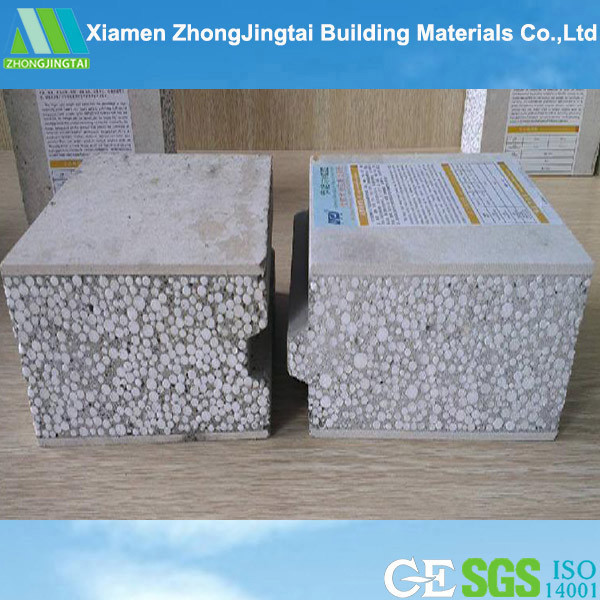 China cheap polystyrene fibre cement outside insulated for Cement foam blocks