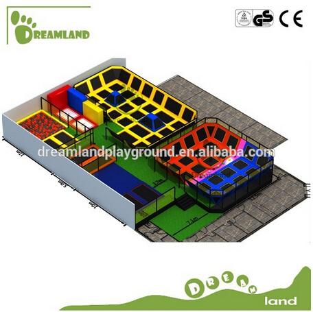 Indoor Trampoline Gymnastics Big Indoor Trampoline