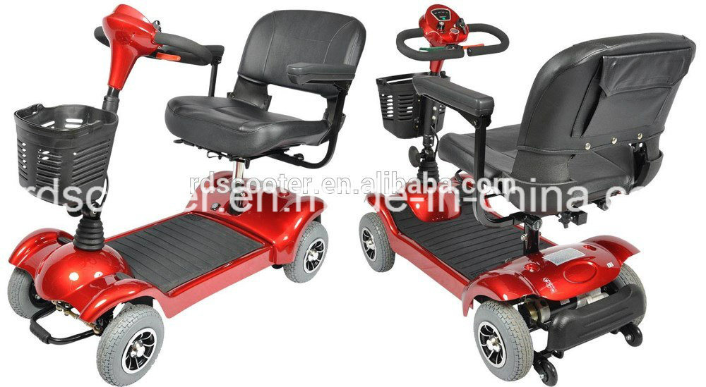 Small Size 250W Mobility Scooter Compact Scooter Ce Certificat