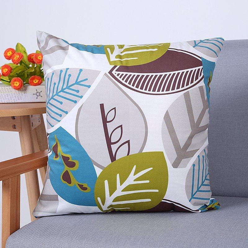Digital Print Decorative Cushion/Pillow with Botanical&Floral Pattern (MX-93)