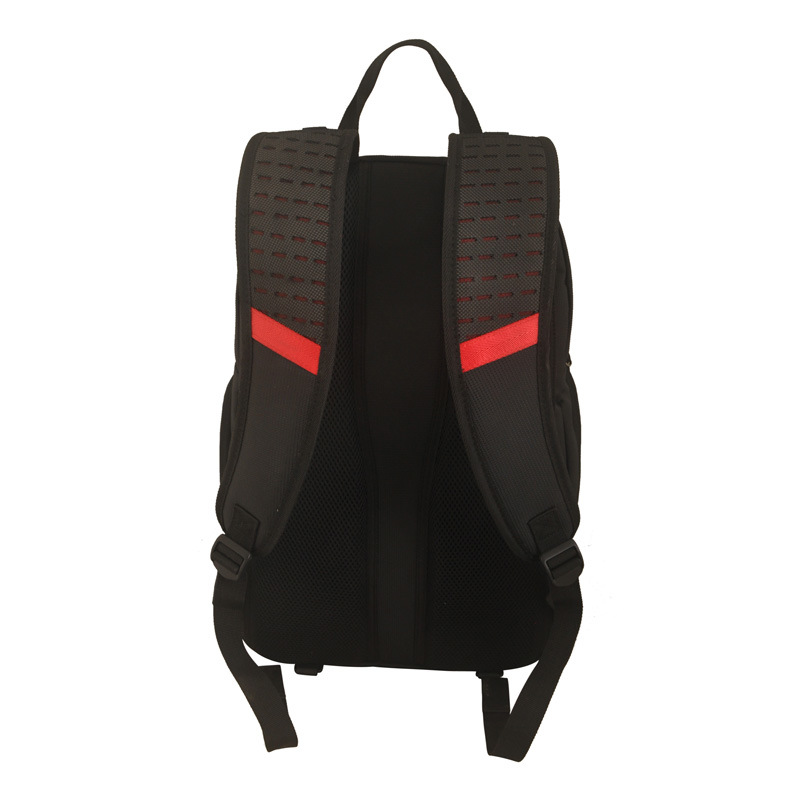 2016 Black Laptop Backpack with Fashion Design