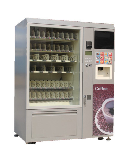 Refrigerated Vending Machines and Coffee Machine Share One Paying System LV-X01