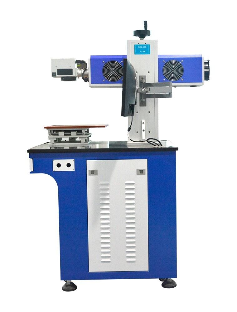 CO2 Laser Marking Machine Plastic Wood Lether Engraving Machine