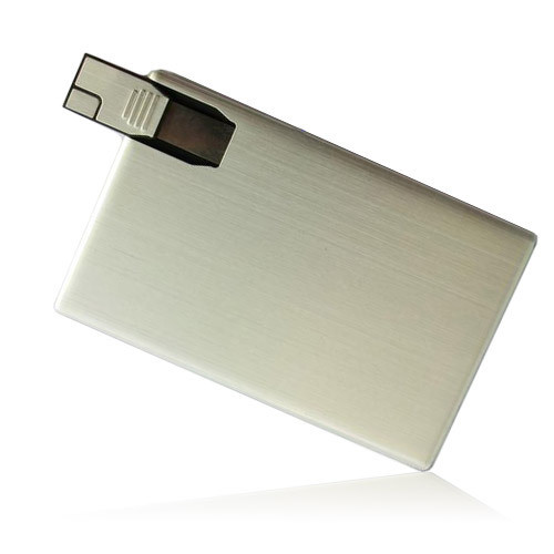 USB Flash Disk Metal Credit Card Christmas Gift