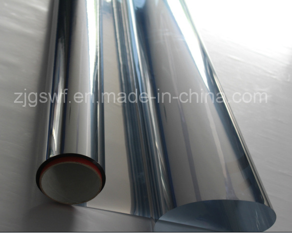 Sputtering Silver Reflective Residential Window Film (1.52*600m Per Roll SFS101)