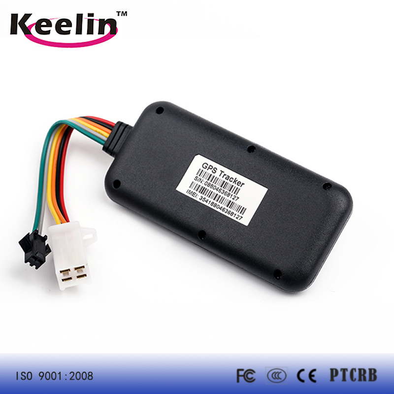 Waterproof GPS Tracker for Vehicle with 9V- 72V Voltage Range (TK119)