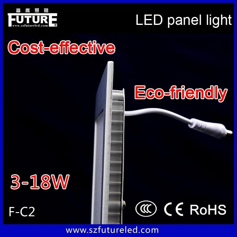 24W Square LED Flat Panel, 300*300 High Lumens Panel Lighting
