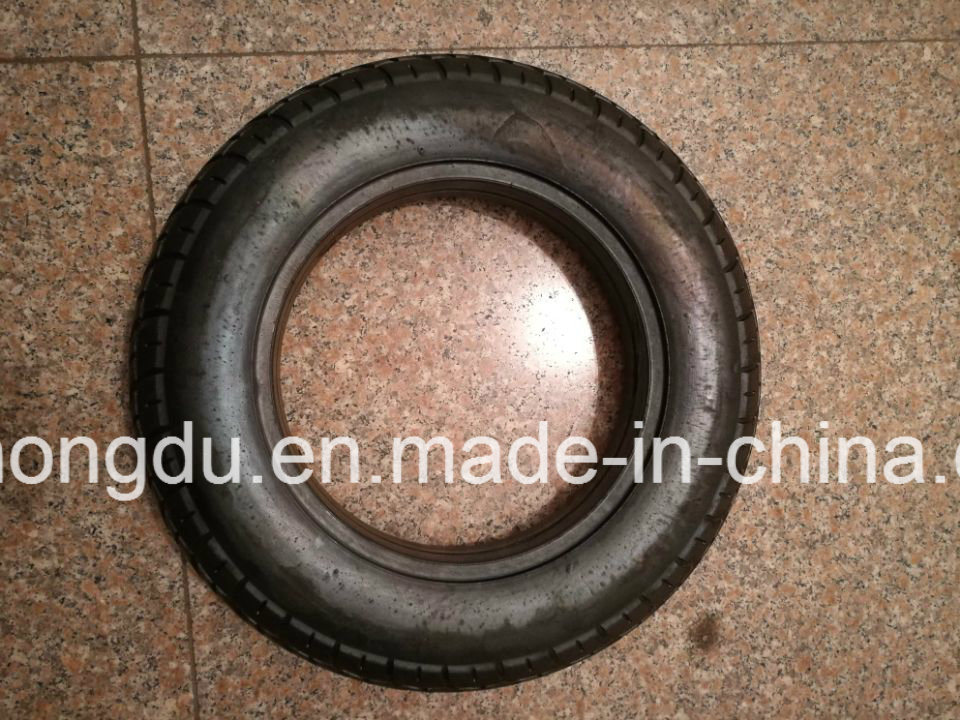 Diamond Pattern Solid Tyre Without Tube