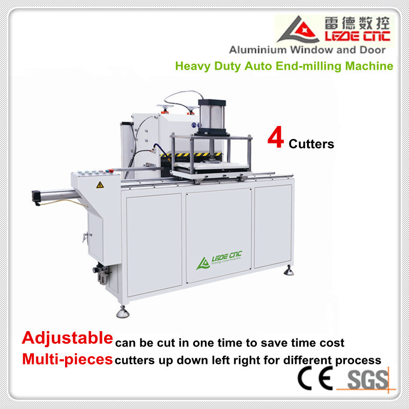 Window Machine Heavy Duty Auto End-Milling Machine 4 Cutters