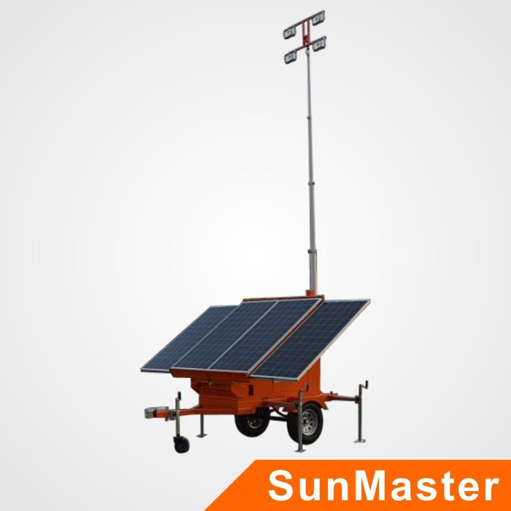 Mobile Solar Light Tower