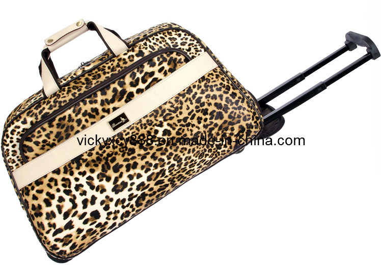 Top Quality Wheeled Trolley Luggage Travel Bag Suitcase (CY9913)