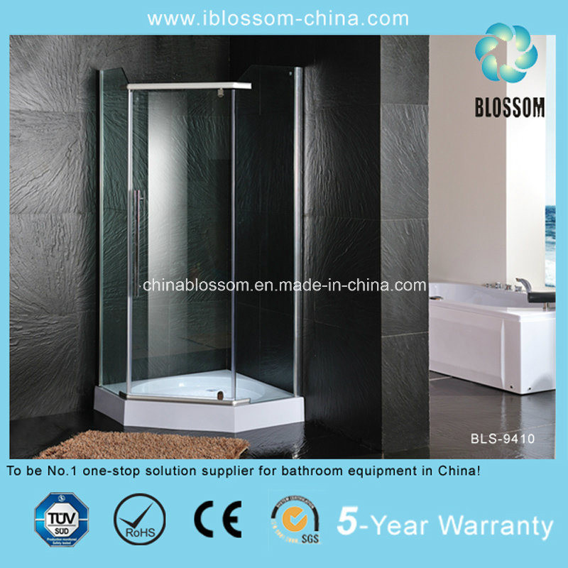 Hot Sale Diamond Shaped Design Aluminum Profile Shower Room (BLS-9410)