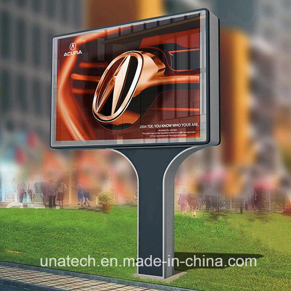 Outdoor Passageway Road Media Image Banner Pillars Advertising LED Mega Light Box